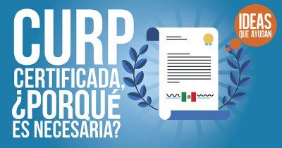 CURP certificada