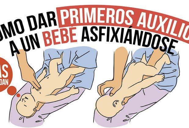 primeros auxilios a un bebé