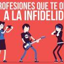 profesiones que te orillan a la infidelidad