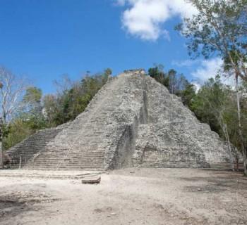 Visita la zona arqueológica de Cobá, en Quintana Roo