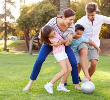 Administra sanamente el tiempo con tu familia