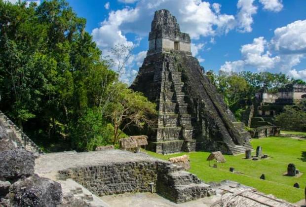 Las pirámides de Tikal, en Guatemala