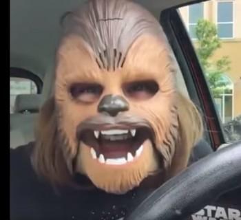 Chewbacca feliz se convierte en el video más visto de la historia