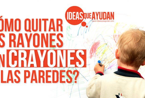 Crayones archivos ideas que ayudan - Como quitar los rayones de la vitroceramica ...