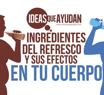 Ingredientes del refresco y sus efectos en tu cuerpo