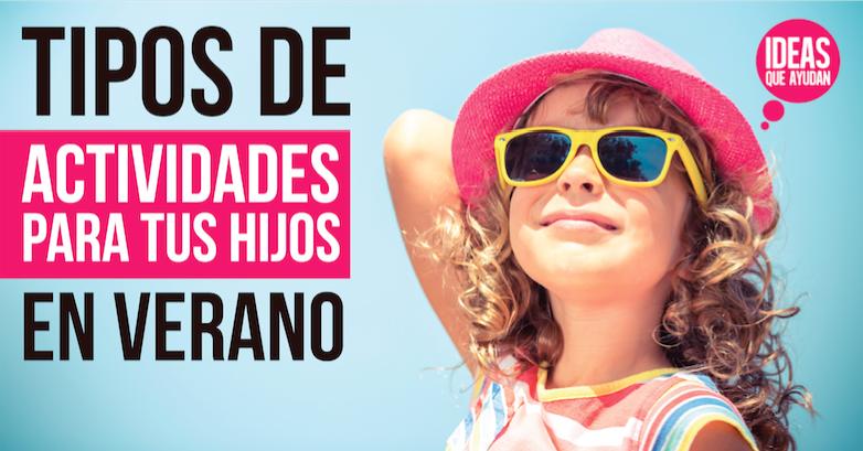 actividades para tus hijos en verano