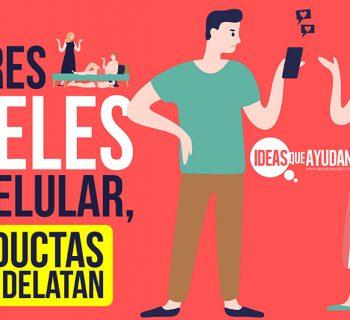 Hombres infieles y su celular
