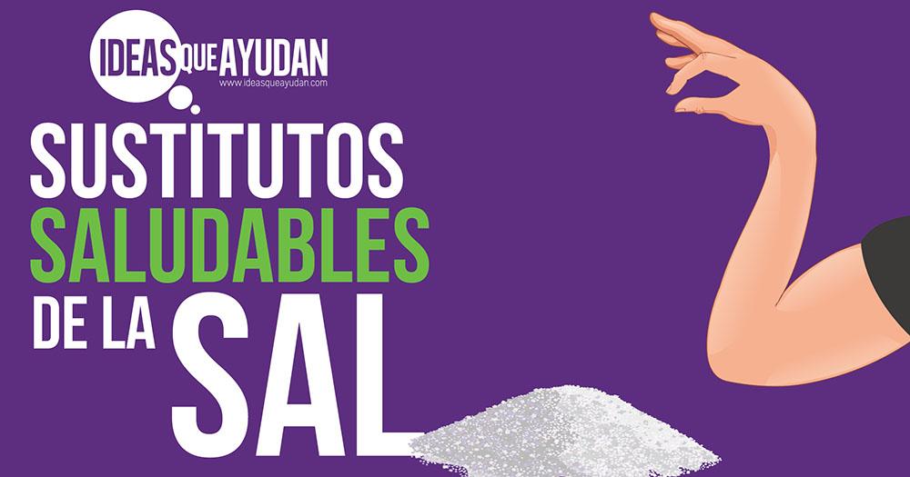 Sustitutos saludables de la sal