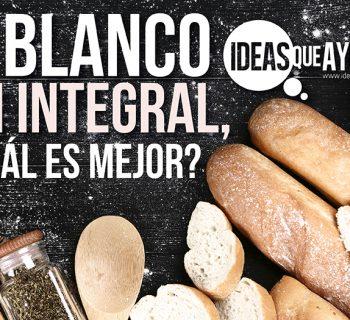Pan blanco o pan integral