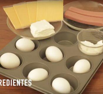 muffins de huevo