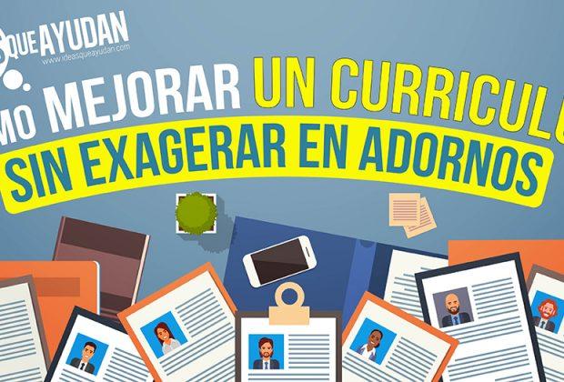 Cómo mejorar un curriculum