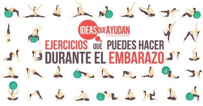 ejercicios que puedes hacer durante el embarazo