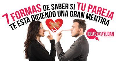 saber si tu pareja te está mintiendo
