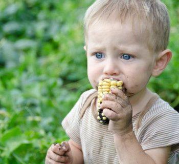 Descubriste a tu bebé comiendo tierra ¿Qué es lo que debes hacer?