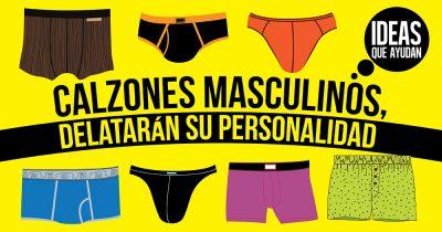 calzones masculinos