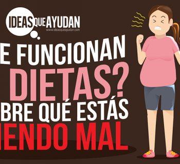 No te funcionan las dietas