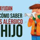 Cómo saber a qué es alérgico tu hijo