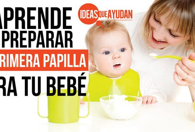 papilla para tu bebé