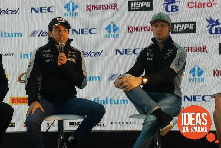 Sergio Pérez y Nico Hülkenberg