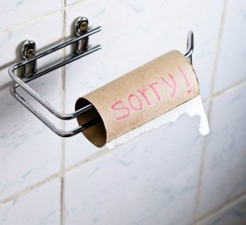Qué hacer cuando no hay papel en el baño de la oficina