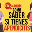 Cómo saber si tienes apendicitis