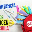 La importancia de que los niños organicen su mochila