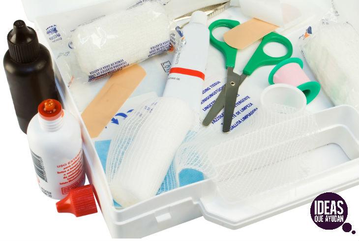 No todo los productos para primeros auxilios que empleas en adultos son útiles en niños