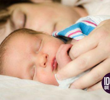 Al dormir con tu bebé, reduces hasta en 50% el riesgo de muerte de cuna
