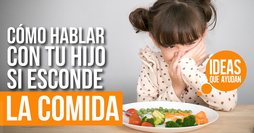 esconde la comida