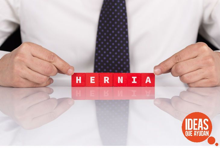 La hernia puede extenderse hasta el escroto y causar mayor dolor del que puedas imaginar.