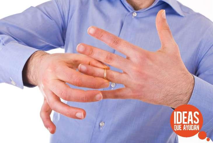 Como usar anillos para hombre