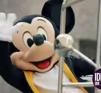 Celebran el cumpleaños de Mickey Mouse