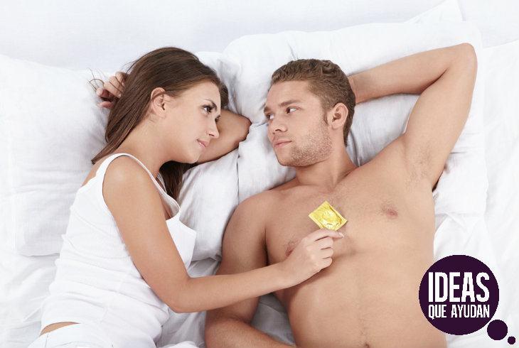 Mi pareja no quiere usar condón, ¿qué hago?