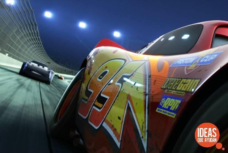 """""""Cars 3"""": Lanzan el primer teaser de la cinta"""