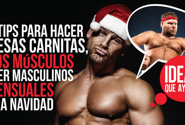 músculos sensuales
