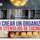organizador de utensilios de cocina