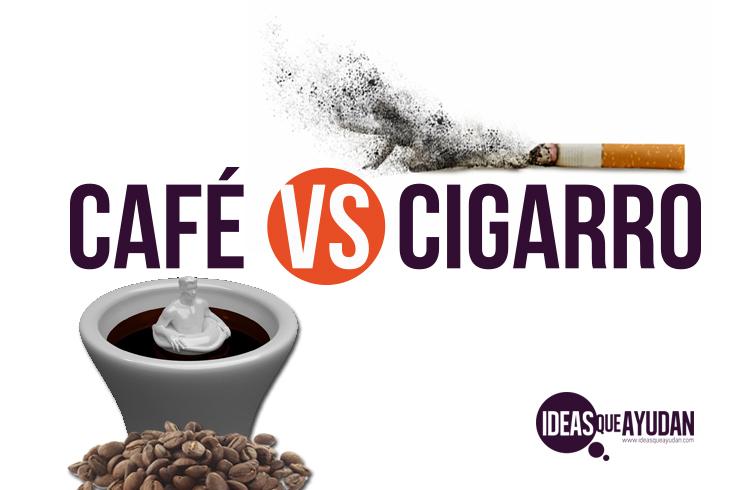 café vs cigarro