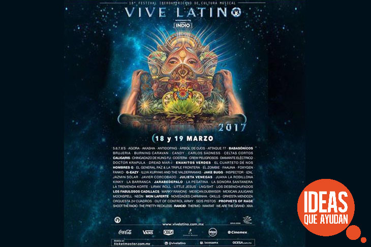 Imagen: Cortesía Vive Latino.