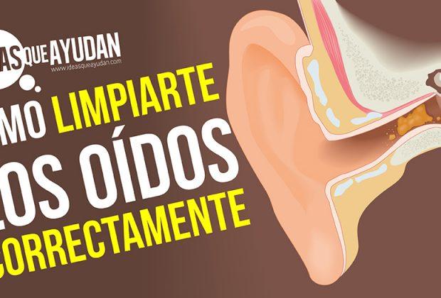 Cómo limpiarte los oídos