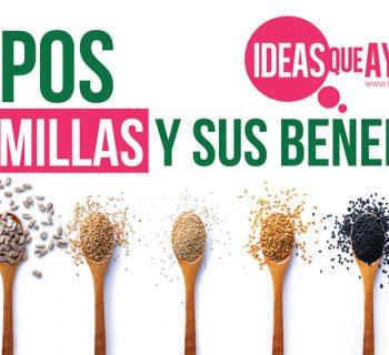 tipos de semillas y sus beneficios