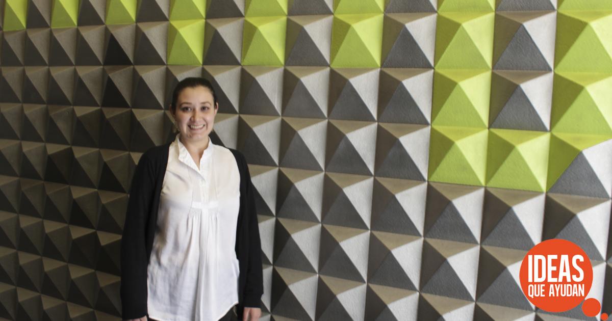 Patricia Álvarez Relacionista Pública del MUMEDI
