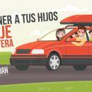 Cómo entretener a tus hijos en viaje de carretera