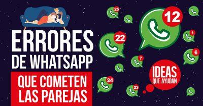 errores en WhatsApp