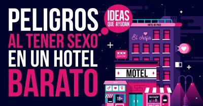 sexo en un hotel barato