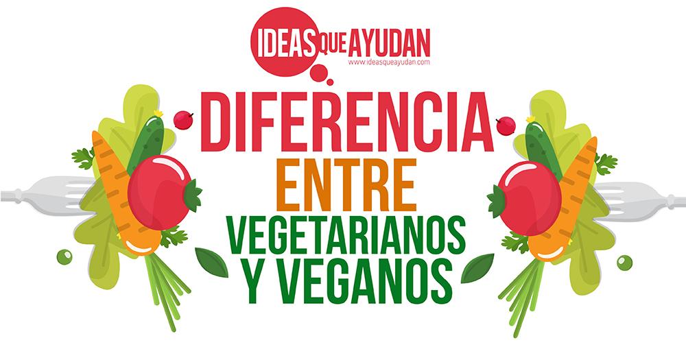 Diferencia entre vegetarianos y veganos