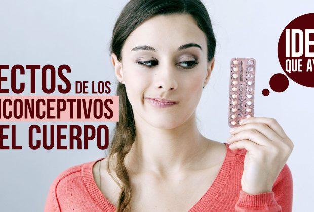 Efectos de los anticonceptivos en el cuerpo