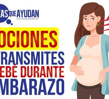 Emociones que transmites a tu bebé durante el embarazo