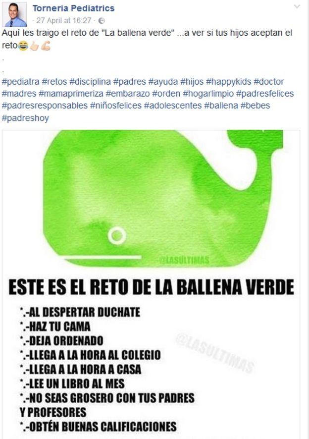 ballena verde