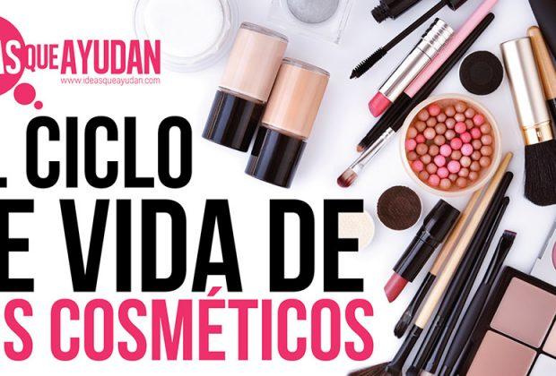 ciclo de vida de tus cosméticos