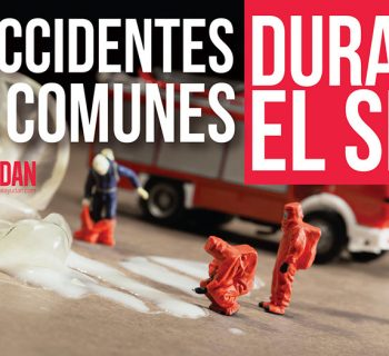 accidentes más comunes